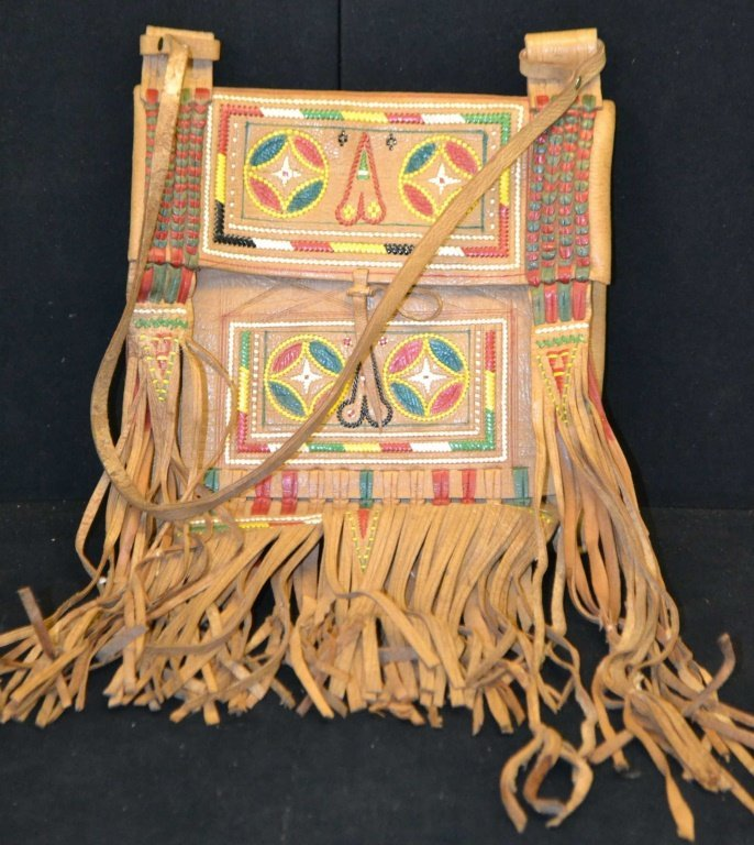 Mid Western Style Leather Hand Bag