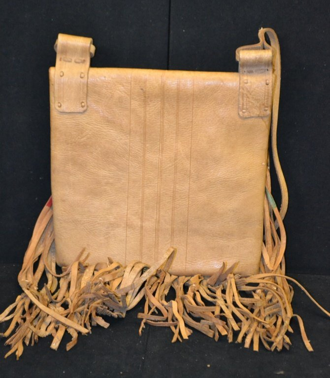 Mid Western Style Leather Hand Bag - 2