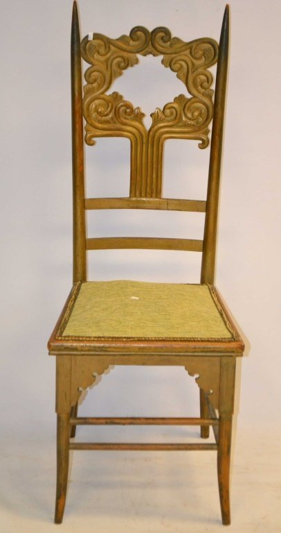Painted Arts & Crafts Chair