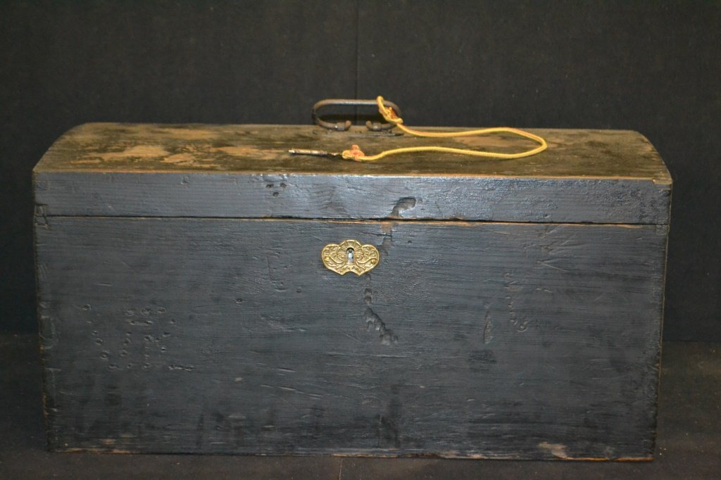 19th C Dome Top Chest