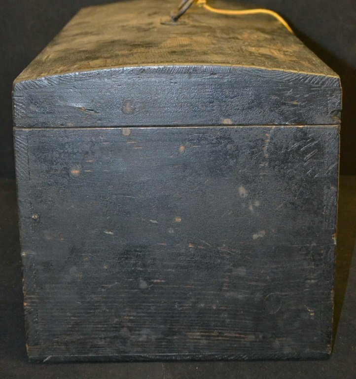 19th C Dome Top Chest - 5