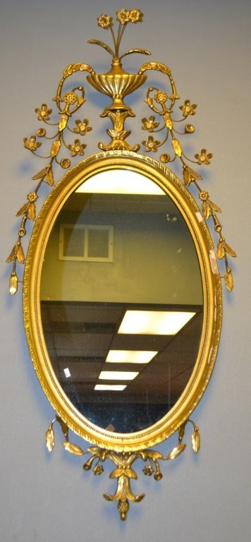 Antique Style Colonial Williamsburg Mirror