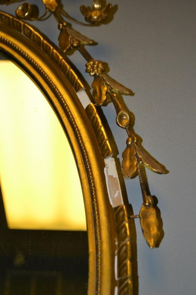 Antique Style Colonial Williamsburg Mirror - 2