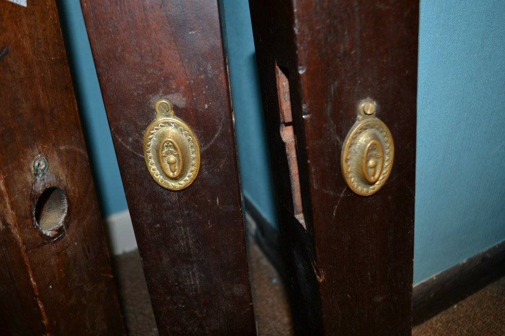 Four 18th C Chippendale Bed Posts - 3