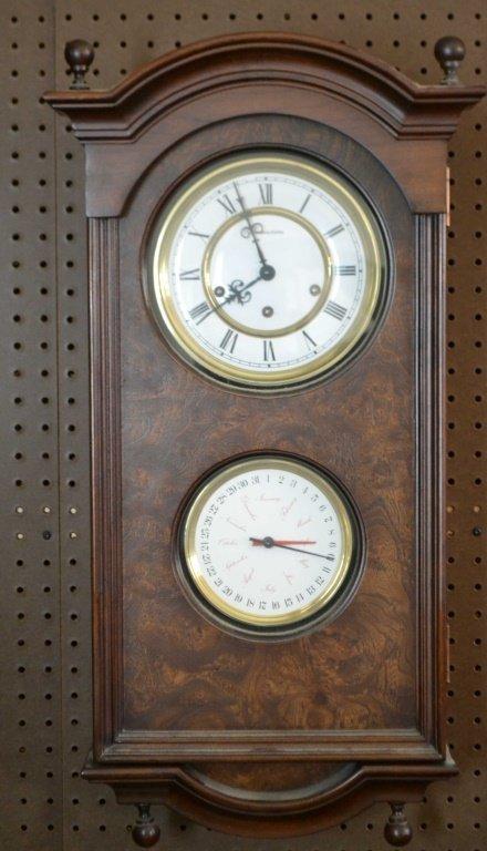 Hamilton Hanging Clock & Barometer