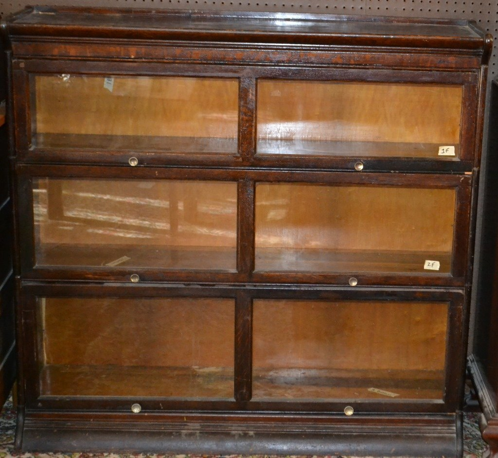 5 Piece Barrister Bookcase