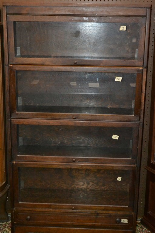 1 Piece Barrister Bookcase