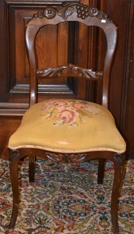 Victorian Ladies Side Chair
