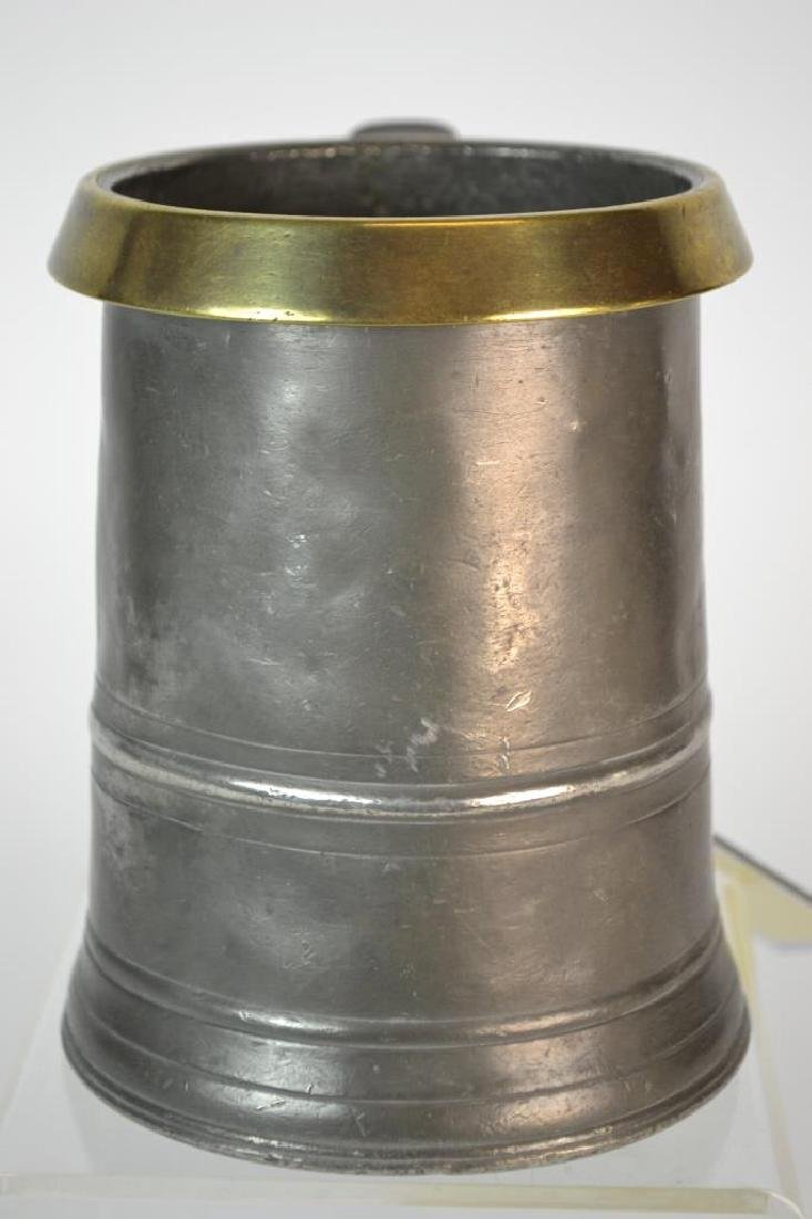 19th Century English Quart Capacity Tankard - 2
