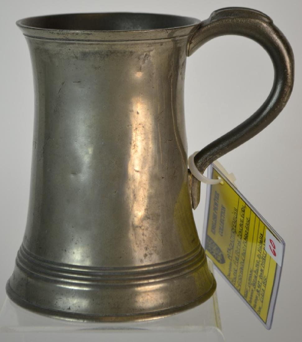 19th Century English Quart Capacity Pub Tankard