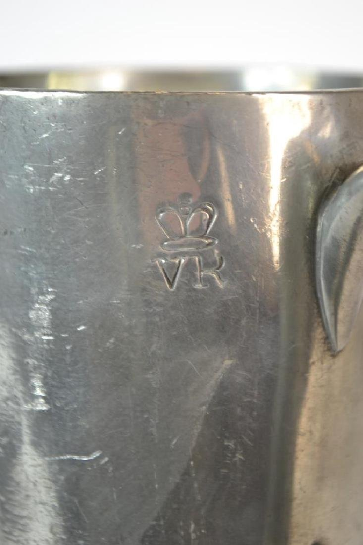19th Century English Pewter Pub Tankard - 2