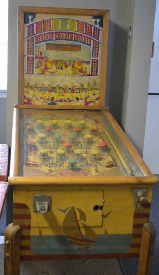 Bally Mfg. Vacation Pinball Machine