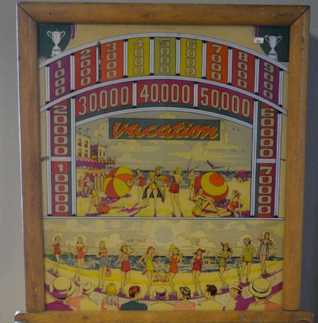 Bally Mfg. Vacation Pinball Machine - 2