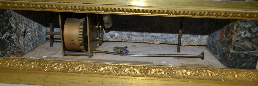 Rare French Mantel Clock Key Wind (Digital) - 7