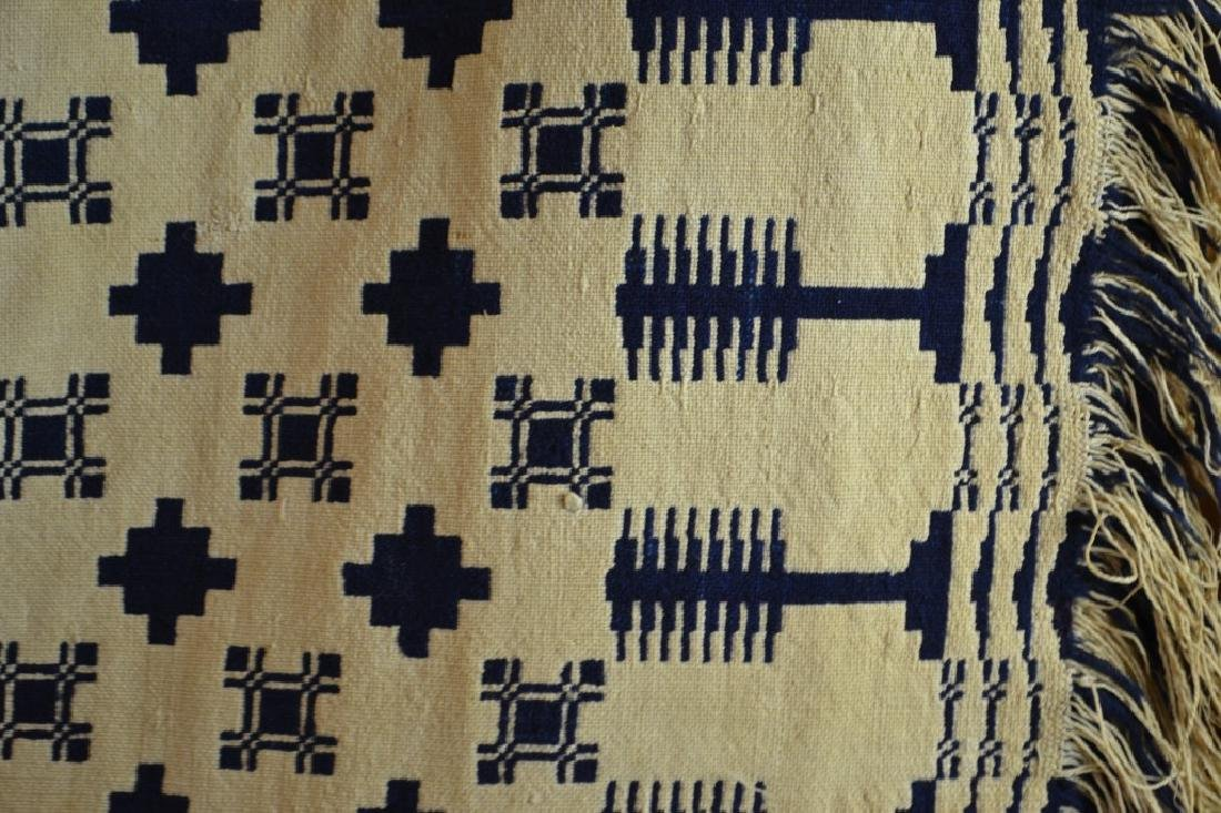 19th C Two Sided Geometric Quilt - 3
