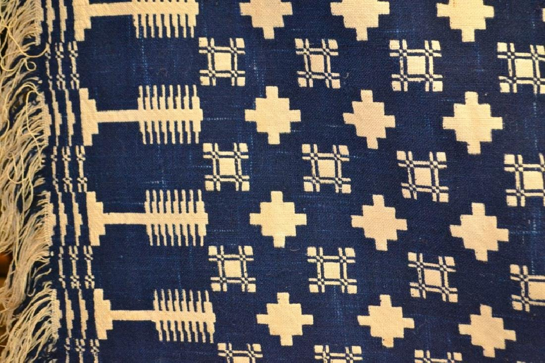 19th C Two Sided Geometric Quilt - 4