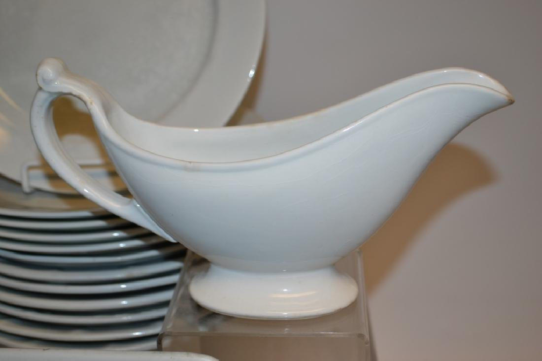 Assembled Set of  Antique White Ironstone - 2