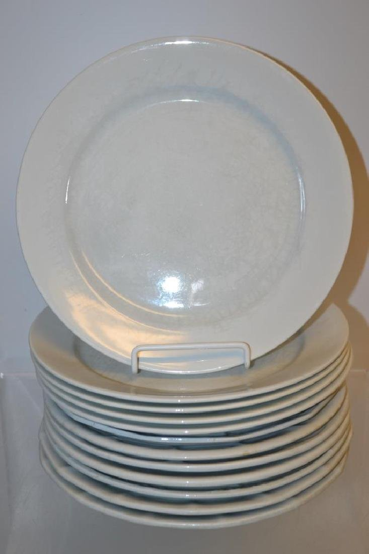 Assembled Set of  Antique White Ironstone - 4