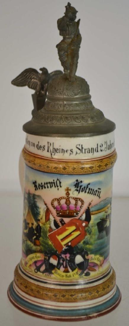 1900 Regimental Stein & Another - 2