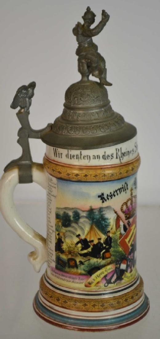1900 Regimental Stein & Another - 4