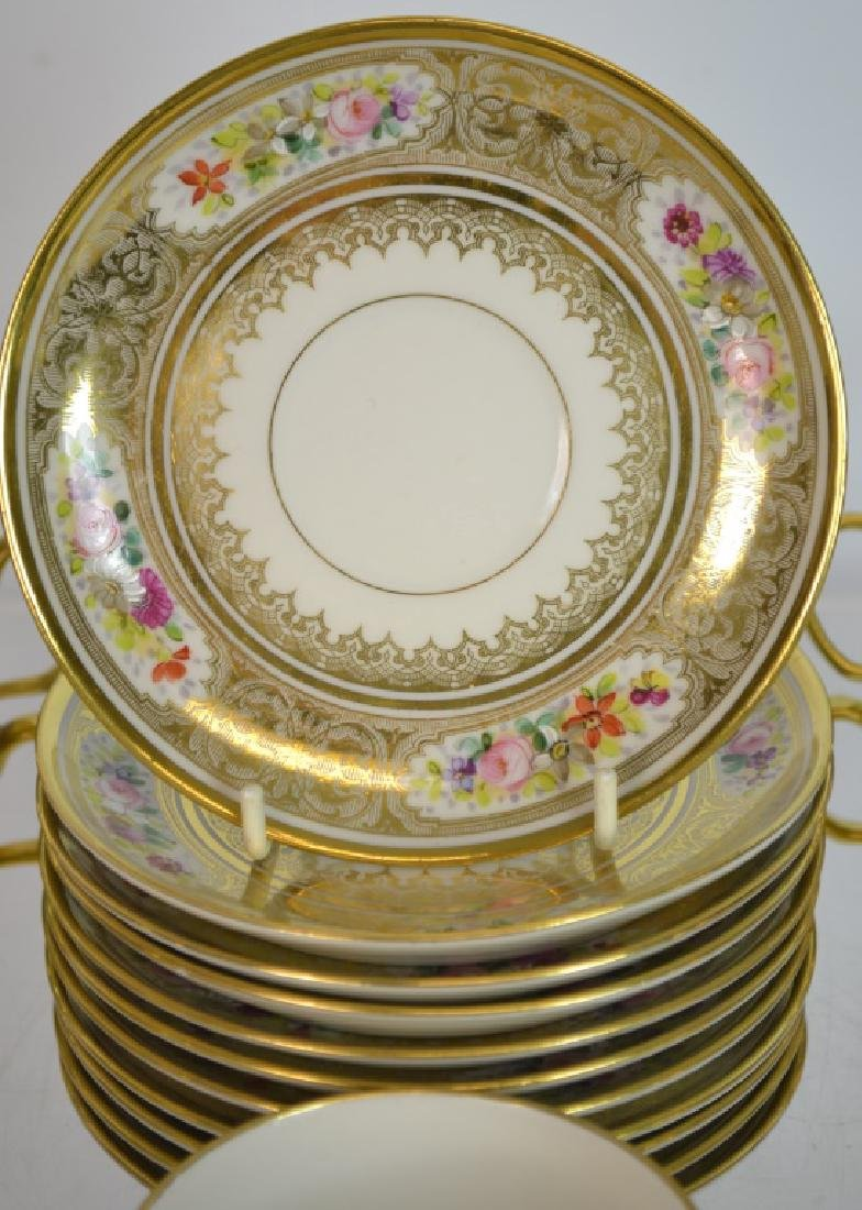 11 Limoges Cups & Saucers - 4