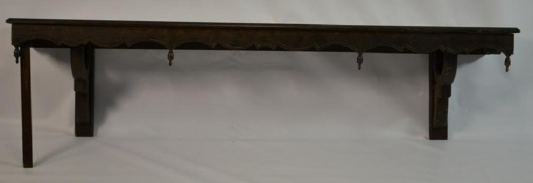 Large Ornate Hanging Wall Shelf