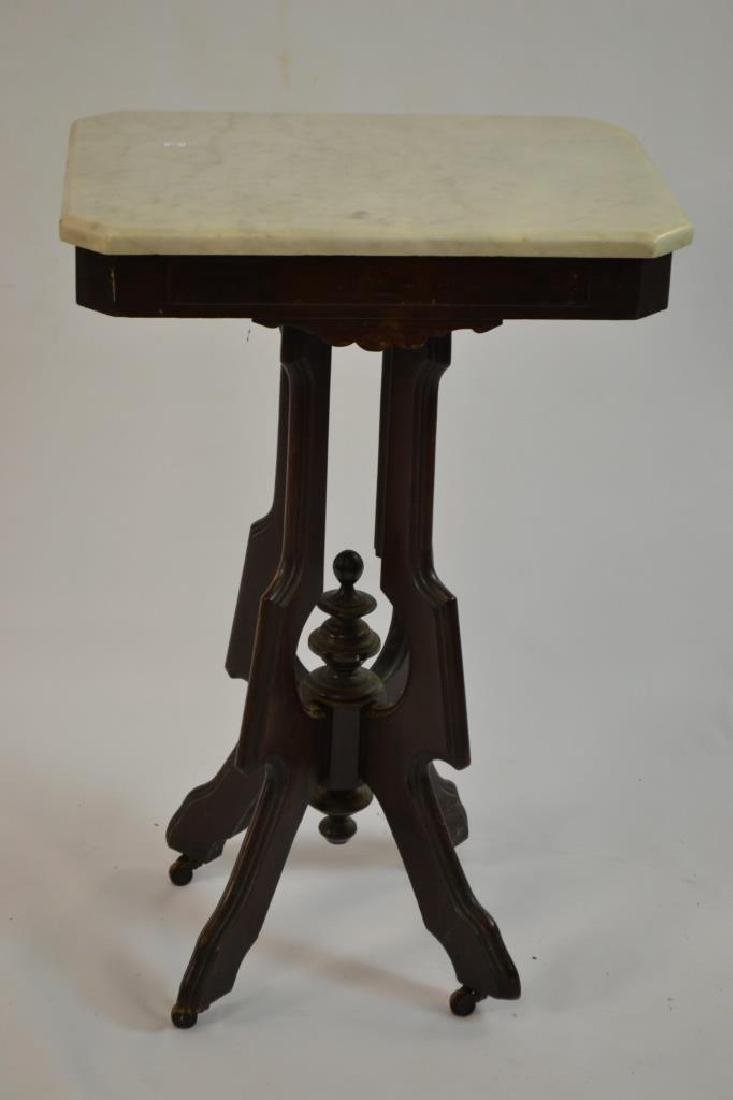 Marble Top Victorian Stand