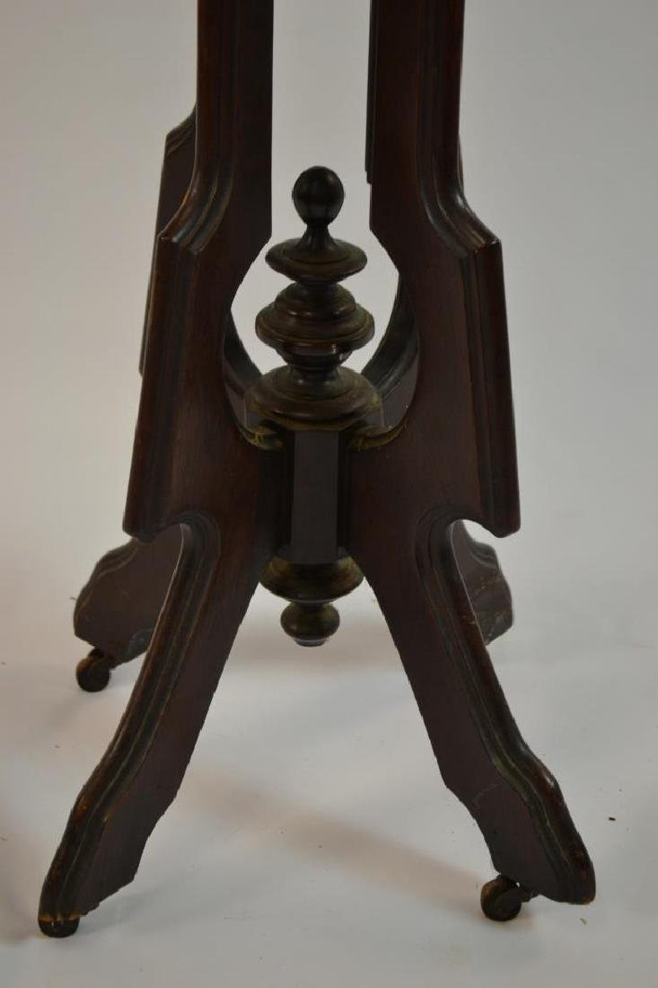 Marble Top Victorian Stand - 2