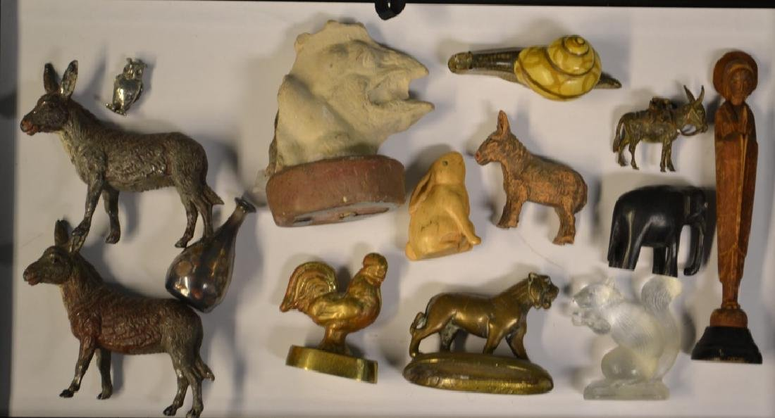 Collection of Early Brass and other Miniatures