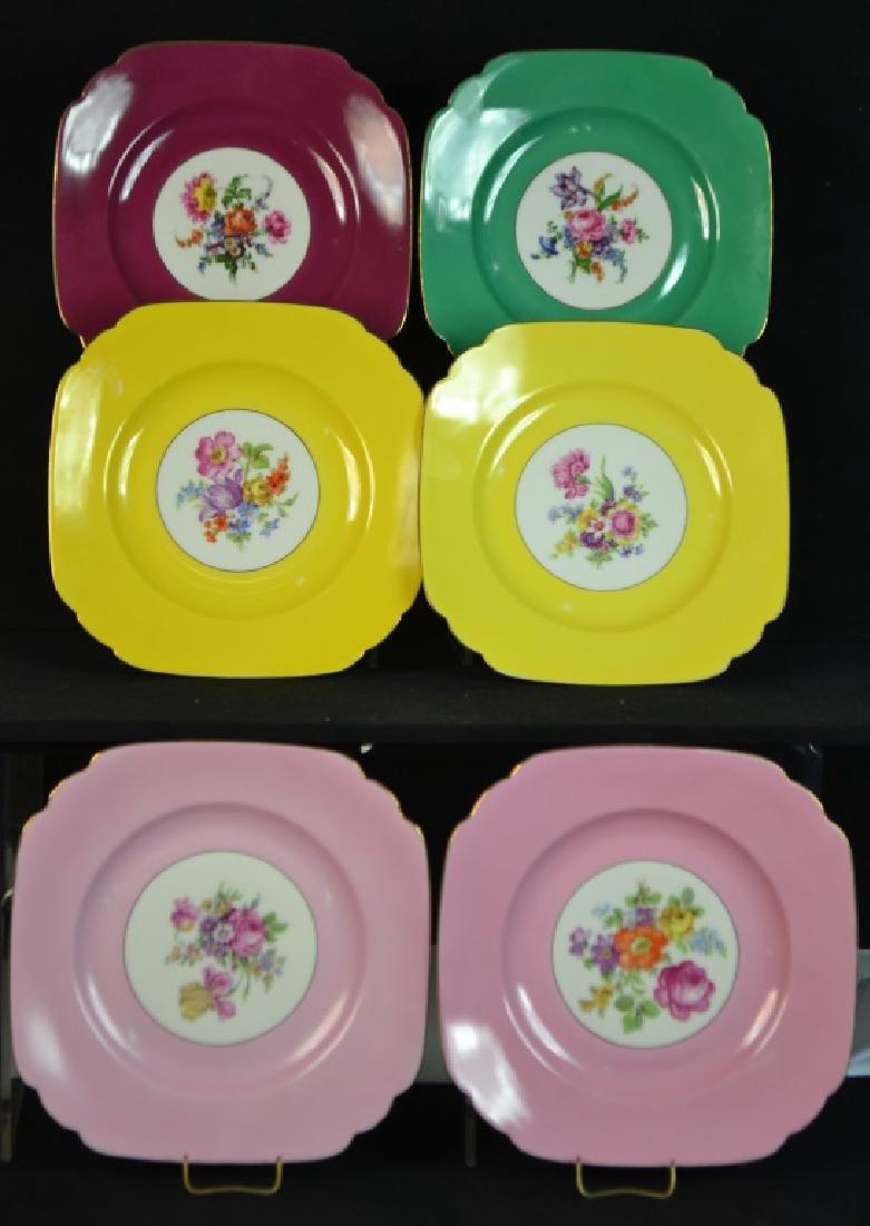 Six Czechoslovakia  Dinner Plates