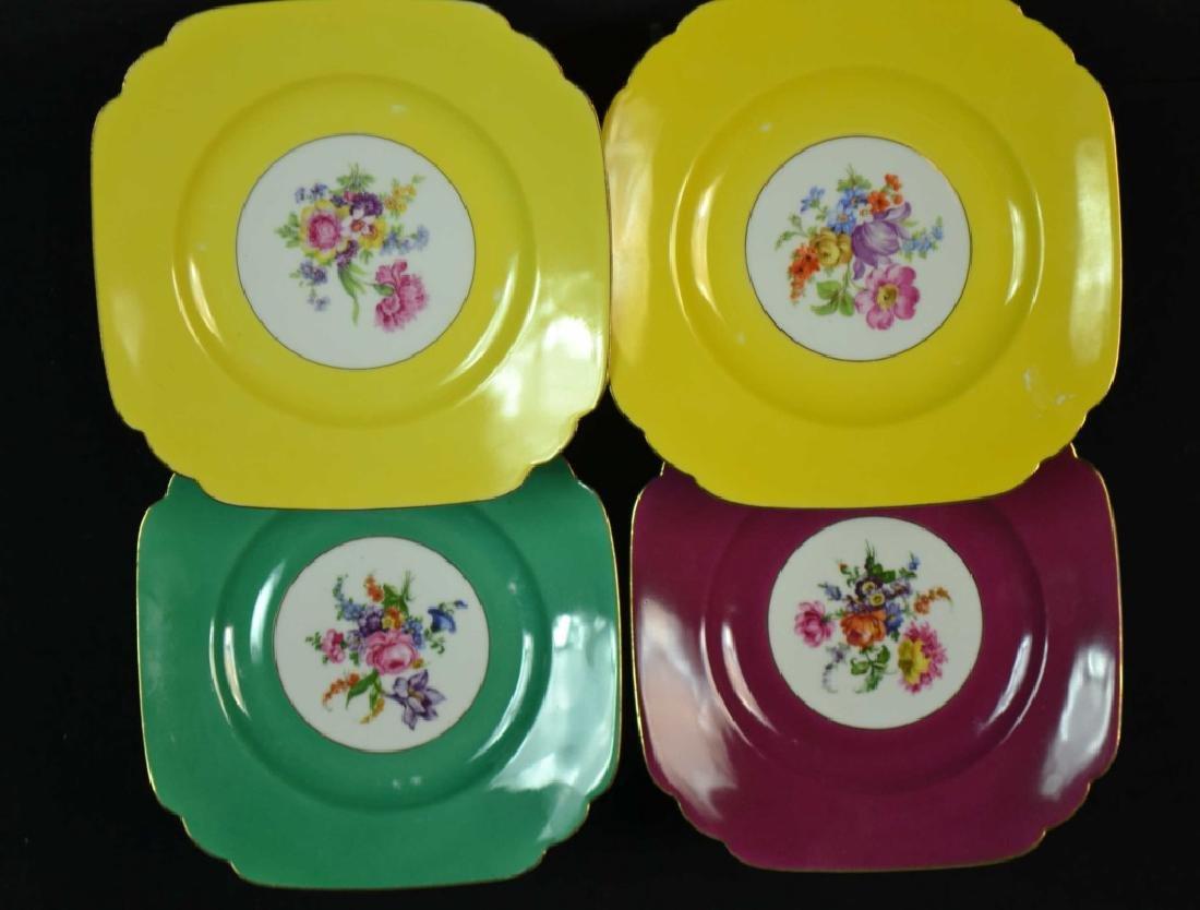 Six Czechoslovakia  Dinner Plates - 2