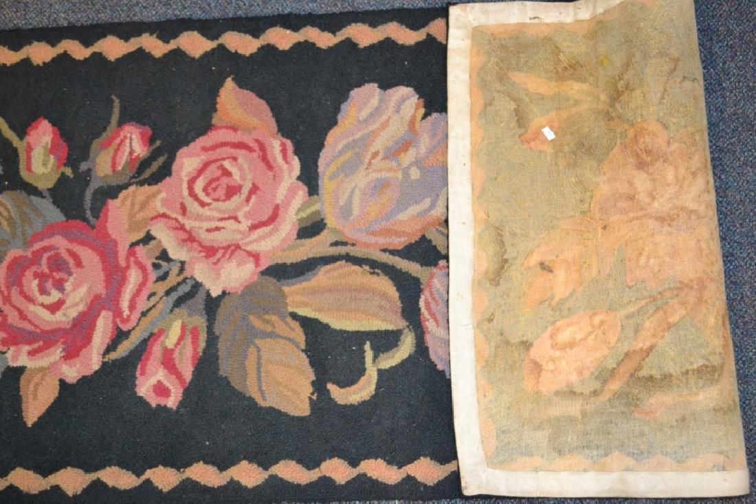 Black Runner w/ Pink Floral Design - 3