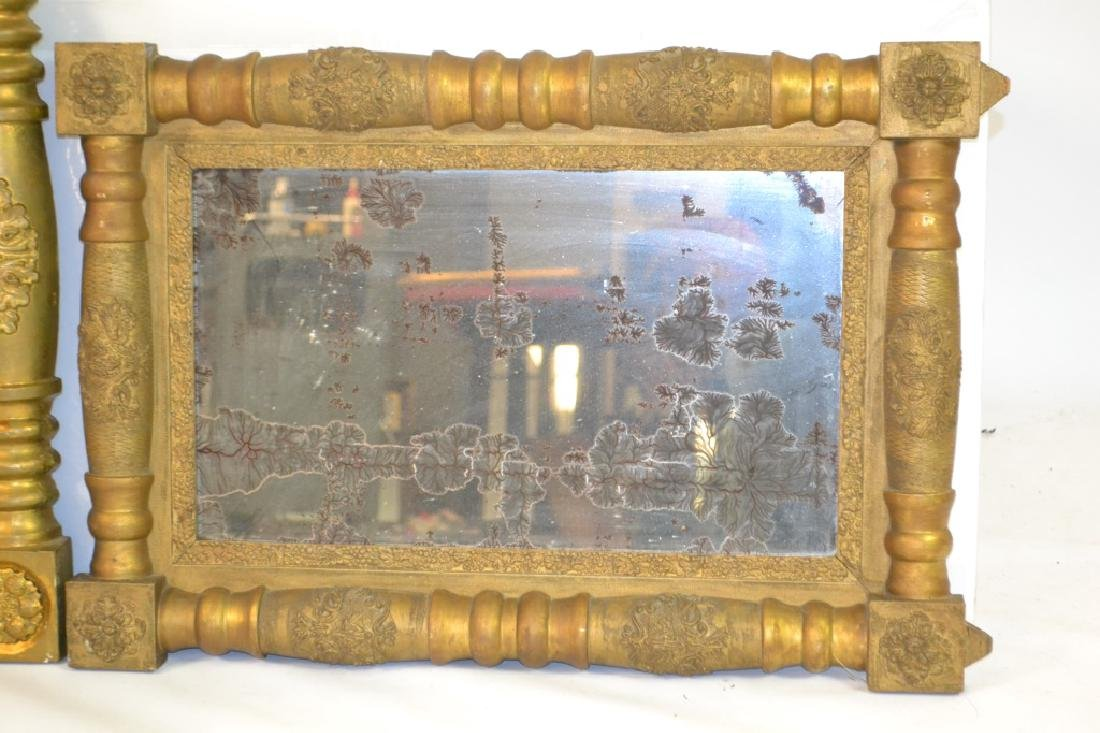 Two Ornate Gilt Mirrors (as is) - 2