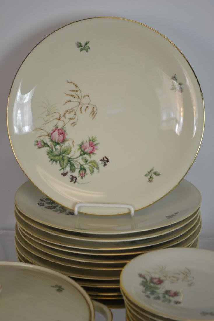 H & B German Porcelain Partial Dinner Service - 6