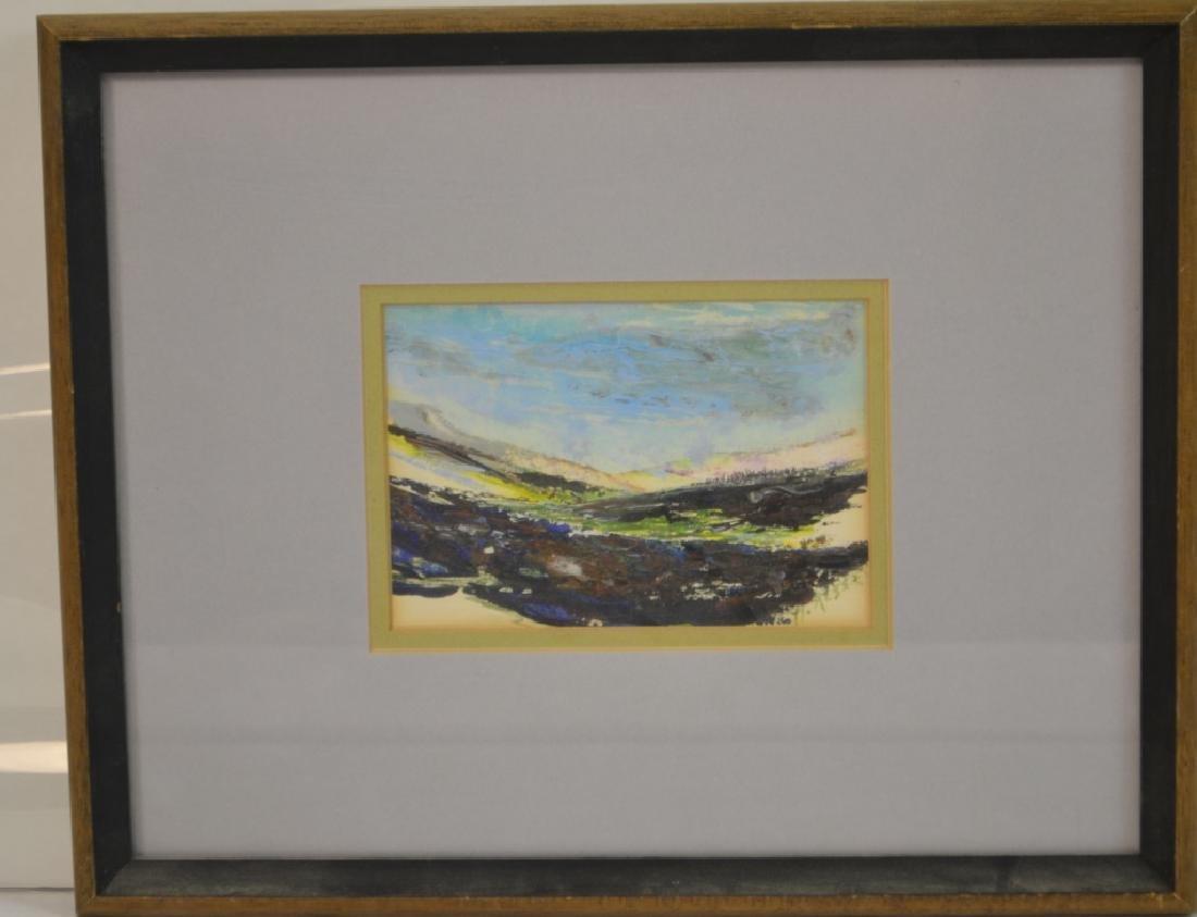 Howard Alber Signed Acryllic Painting