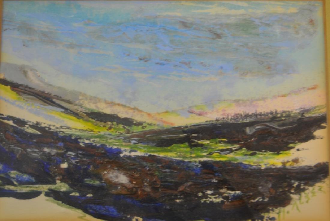 Howard Alber Signed Acryllic Painting - 2