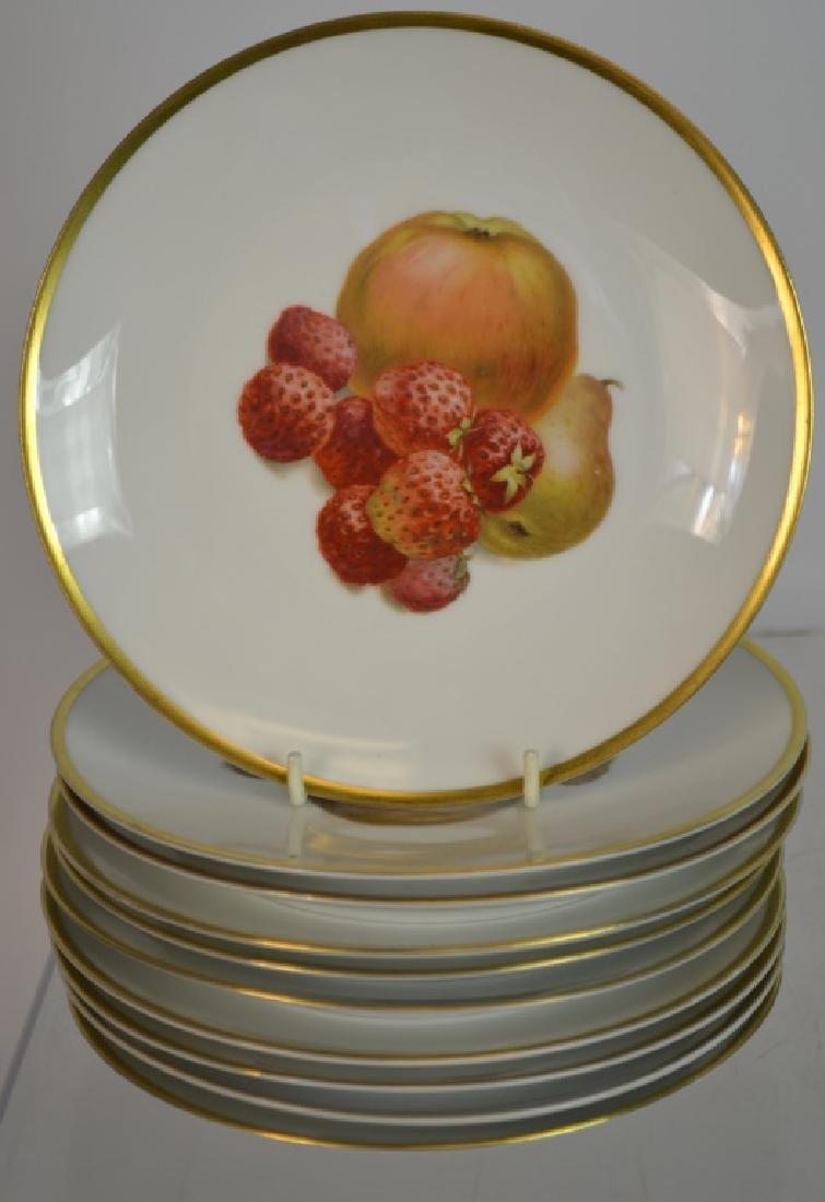 "Ten 7.5"" Bavarian Fruit Plates & Others - 3"