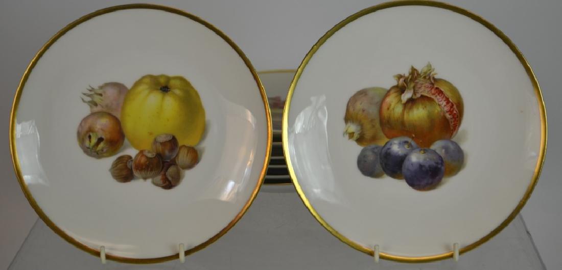"Ten 7.5"" Bavarian Fruit Plates & Others - 4"