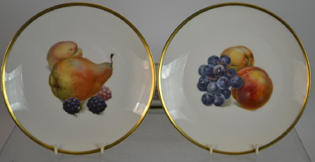 "Ten 7.5"" Bavarian Fruit Plates & Others - 5"