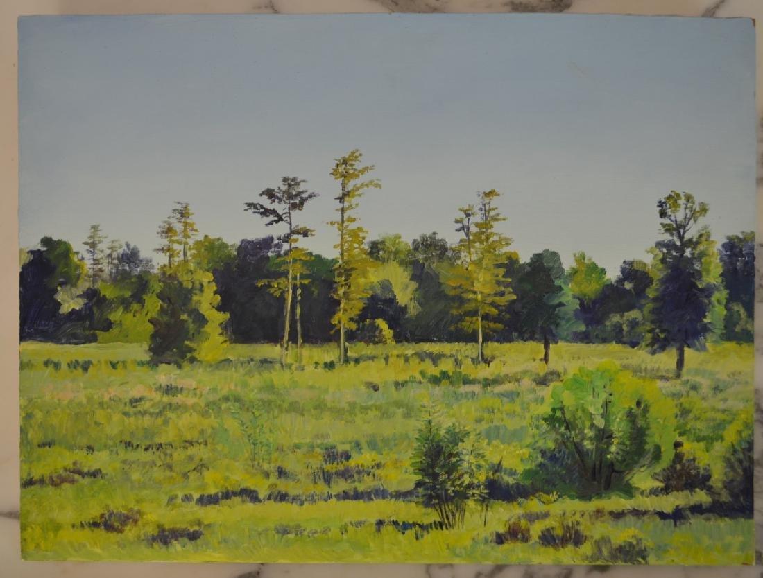 Robert Karsten Oil on Board Painting