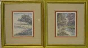 Two Mary Vincent Berterand Signed & Numbered Print