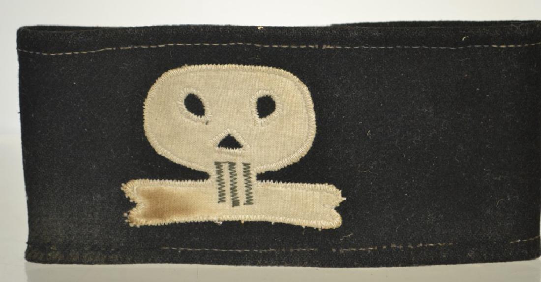 German Skull Shock Trooper Arm Band