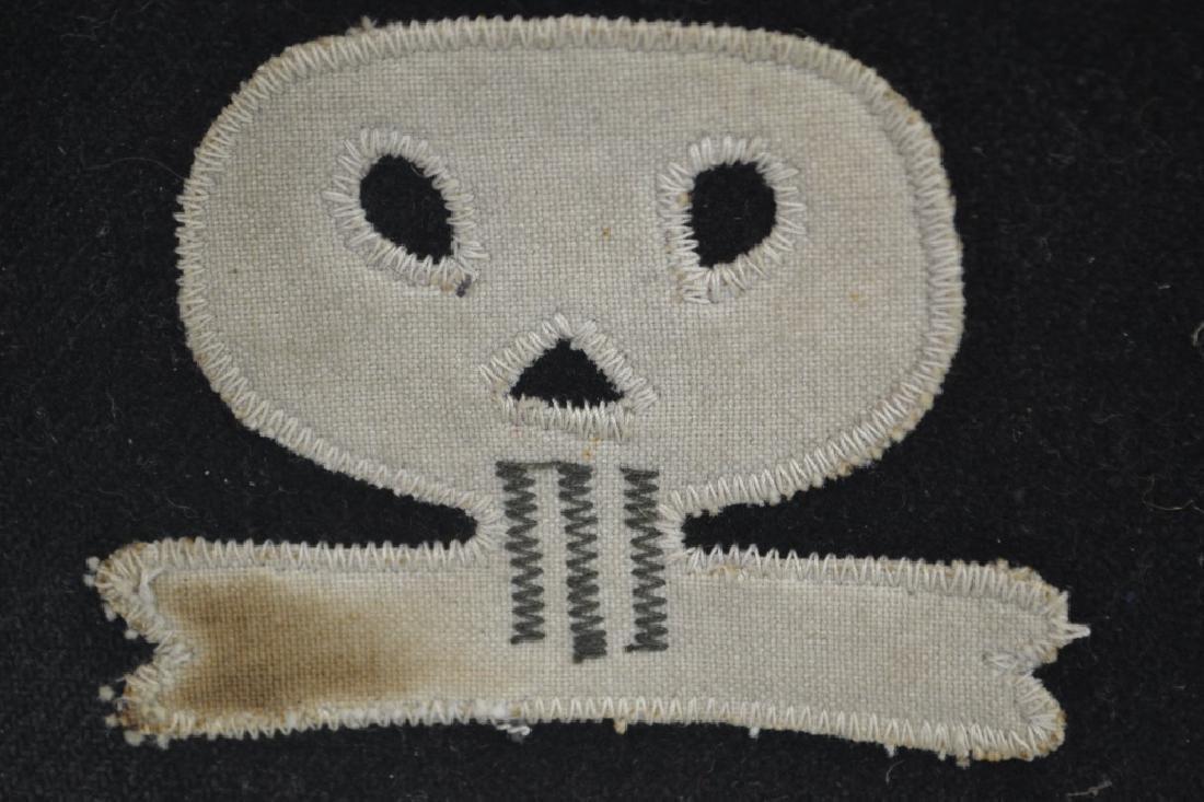 German Skull Shock Trooper Arm Band - 2