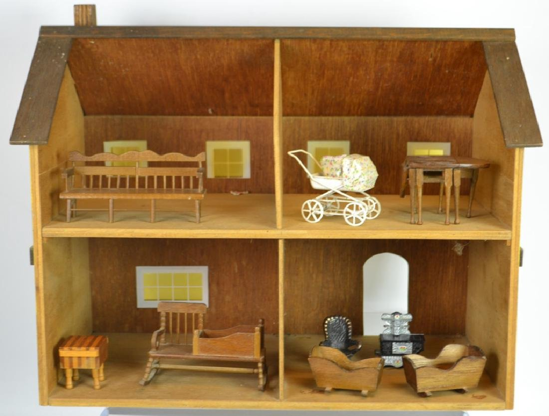 Wooden Doll House - 2