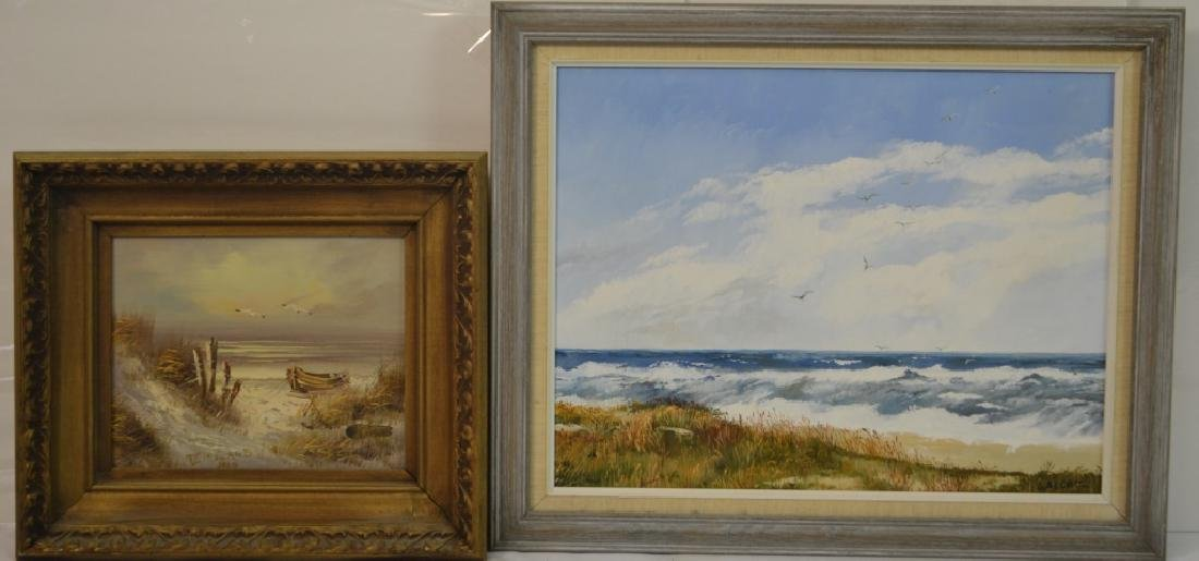 J. Alcott & Thornton E. Ireland Oil Paintings