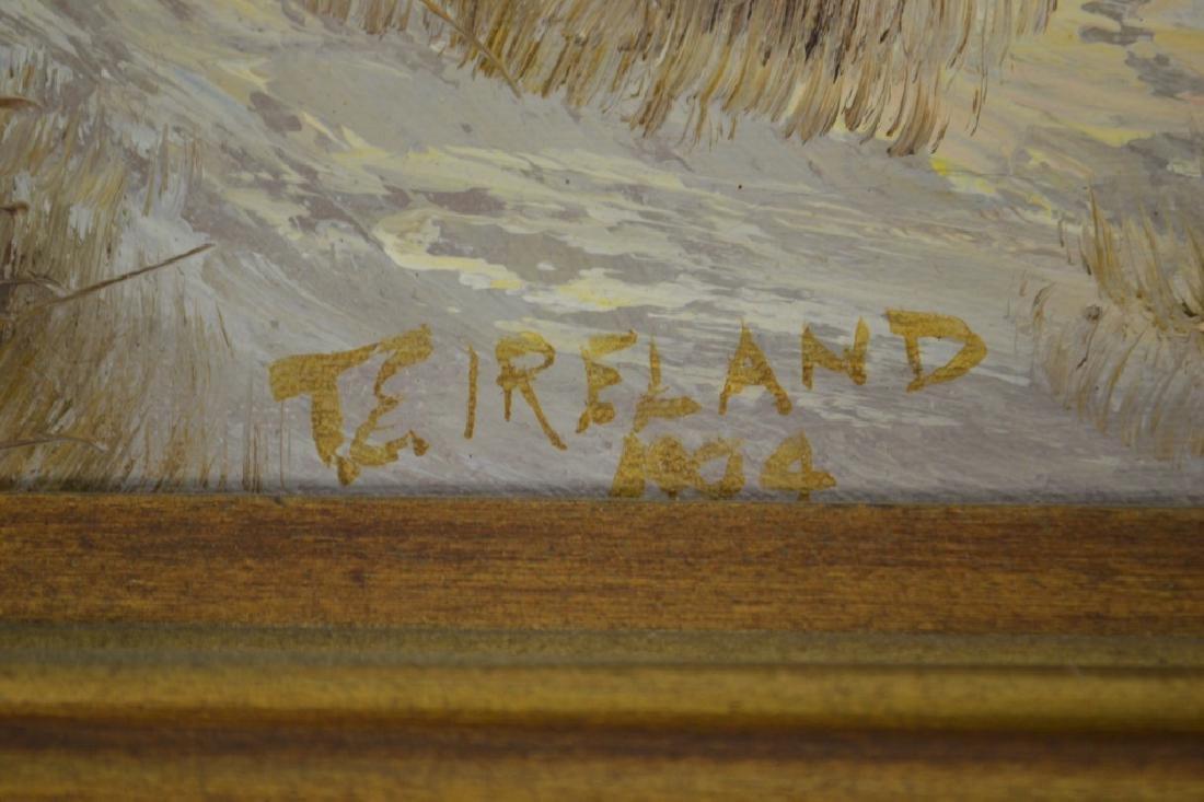 J. Alcott & Thornton E. Ireland Oil Paintings - 3