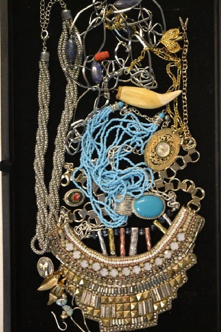 Collection Of Costume Necklace & Earring Lot