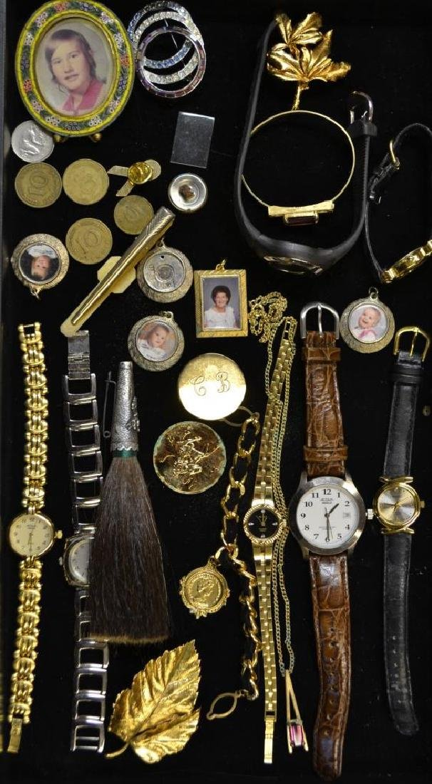 Grouping Of Wrist Watches, Costume Jewelry & Other
