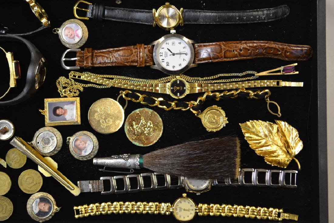 Grouping Of Wrist Watches, Costume Jewelry & Other - 3