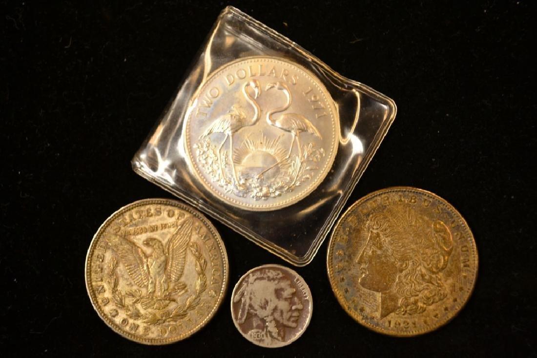 Buffalo Head Nickel & 2 1921
